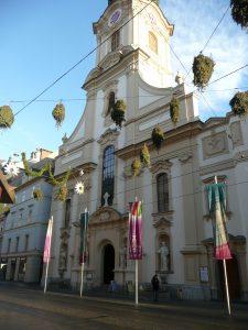 Stadtpfarrkirche Graz - Restaurierung der Westfassade